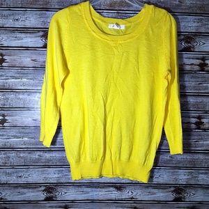 ⭐Forever 21 Yellow Women's Sweater Size Medium⭐